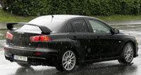 Mitsubishi EVO X: Nue (rburgring)