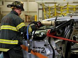 Chevrolet Volt électrique : les pompiers briefés en cas d'interventions