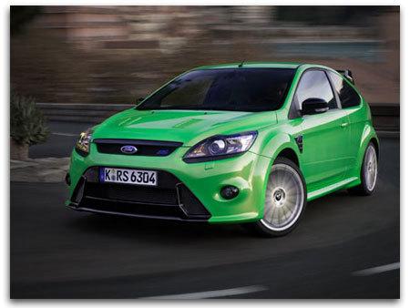 Future Ford Focus RS : 33.650 euros pour la France !