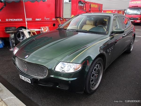 Photos du jour : Maserati Touring Bellagio Fastback (Modena Track Days)