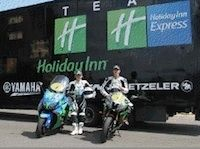 Dark Dog Moto Tour 2012: le team Holiday Inn en chasse pour le titre...