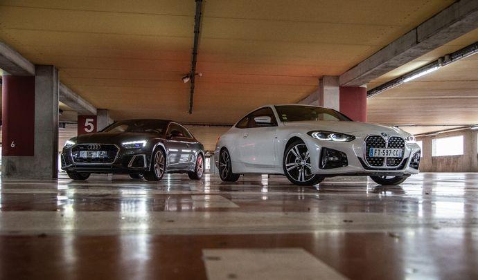 Comparatif vidéo - Audi A5 VS BMW Série 4 : concours de grandes gueules