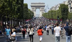 Paris veut accorder plus de place aux piétons