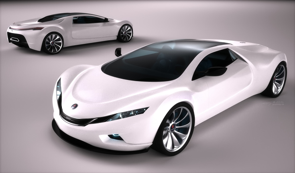 Design : SAAB Spyker 9+ Tribute, fusionnelle