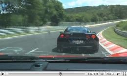 Réveil Auto - Nürburgring : passe d'armes entre une 911 GT3 et une Corvette Z06