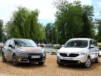 Comparatif vidéo - Renault Scénic - Dacia Lodgy : l'ennemi qui venait de l'intérieur