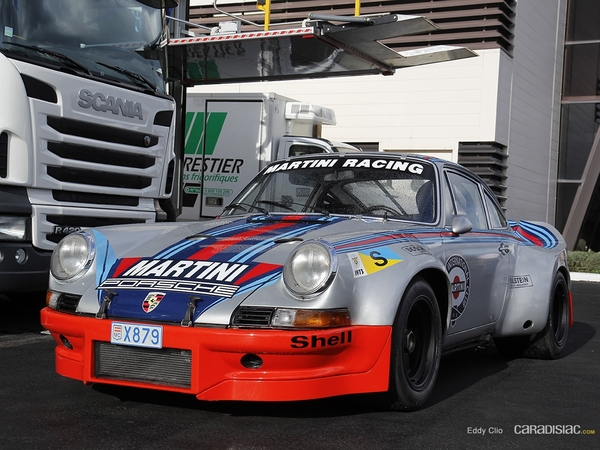 Photos du jour : Porsche 911 RSR Martini Le Mans 1973 (10000 Tours)
