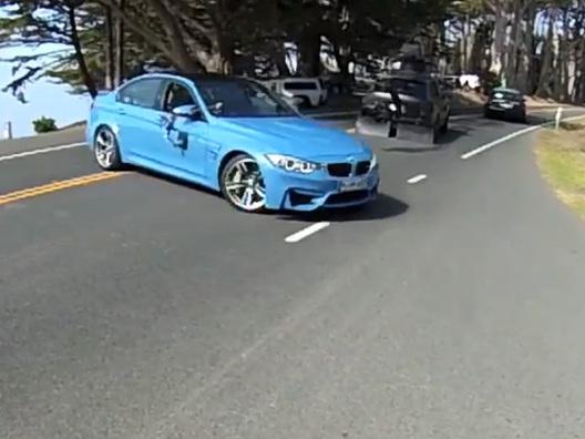 La future BMW M3 surprise en vidéo