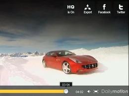 Fifth Gear : Ferrari FF, 660ch sur la neige