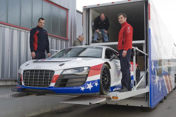 L'Audi R8 LMS évolue pour 2010