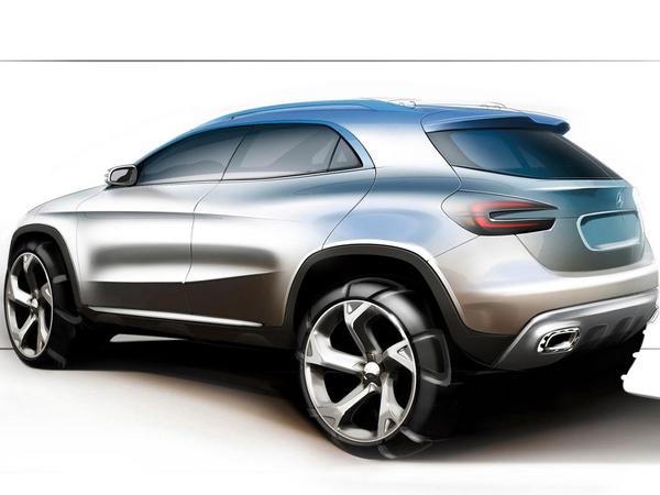 Mercedes ne veut pas d'un mini crossover