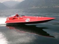 Ferrari F430 : record de vitesse sur l'eau !