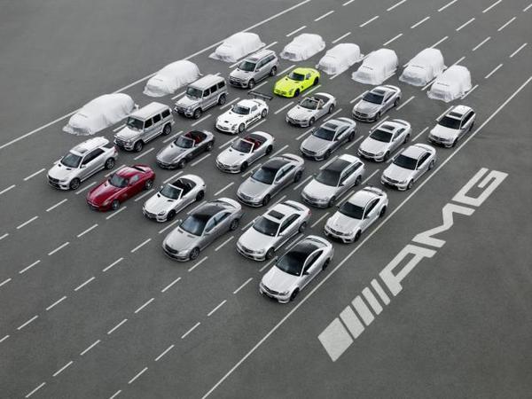 Mercedes AMG tease 8 nouveautés