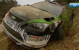 Vidéo : Ken Block devait tout casser en WRC. Au Mexique il a commencé par casser sa voiture.