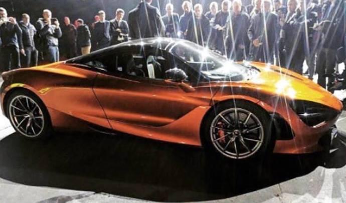 Surprise : voici la toute nouvelle McLaren 720S