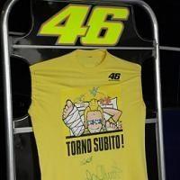 """Moto GP - Rossi: """"Je marche avec des béquilles et depuis quelques jours je peux poser mon pied sur le sol"""""""