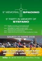 FFMC 74 : 9ème mémorial de Spadino le 29 mars 2008