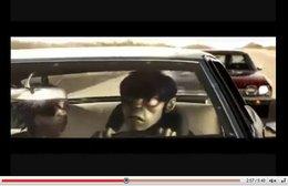 Cool Car Chase : Gorillaz, Bruce Willis, Chevy El Camino, Camaro, l'écologie, la vraie