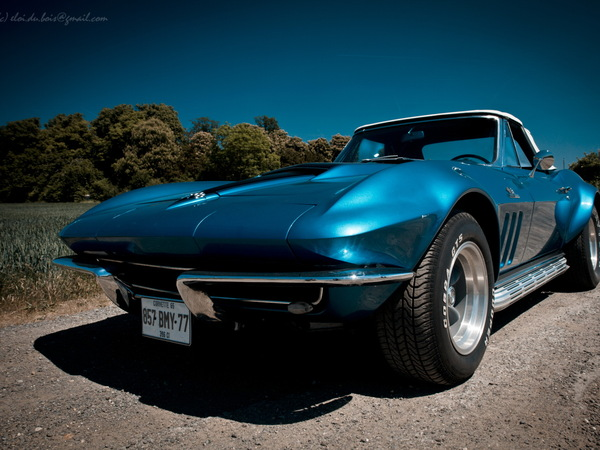 Photos du jour: Corvette C2 Sting Ray '65.