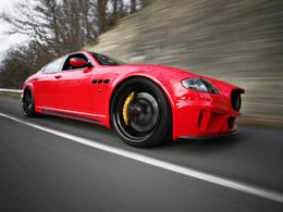 Maserati Quattroporte CDC Performance, objectif BMW M5 ?