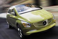 Détroit 2009 : Concept Mercedes BlueZero, la Classe B de demain (ajout vidéo)