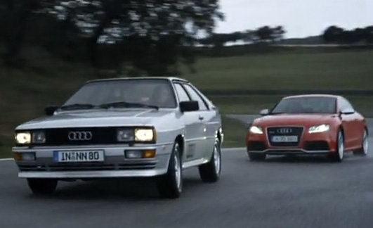 Vidéo: La nouvelle Audi RS5 rencontre la 1ère quattro