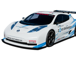 Nissan Lef Nismo RC: la version de course
