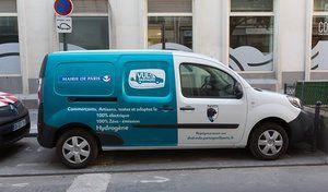 Paris: des utilitaires électriques en libre-service pour les commerçants et artisans