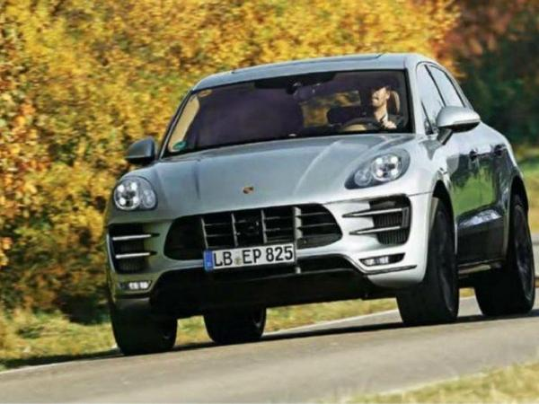 Nouveau Porsche Macan: c'est la fuite!