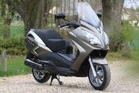 Peugeot Scooters : le pack esprit confort disponible pour le Satelis 125