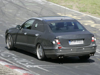 Future Mercedes E63 AMG surprise en test