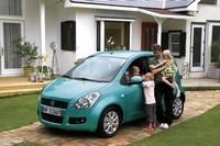 Suzuki Splash : communication précoce...