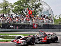 Lewis Hamilton retrouve Montréal