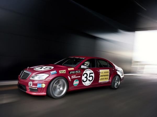 """Nouvelle Mercedes S63 AMG Turbo: En hommage au """"cochon rouge"""""""