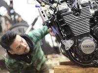 """Yamaha et le préparateur new-yorkais """"Keino"""" ensemble sur une base de XJR13000"""