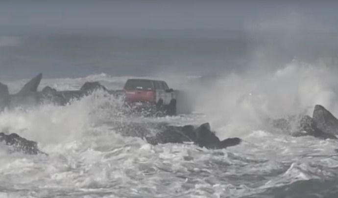 Affronter l'océan en voiture, ce n'est pas une bonne idée