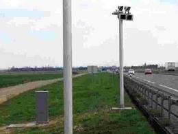 """Le premier """"radar-tronçon"""" installé près de Besançon"""