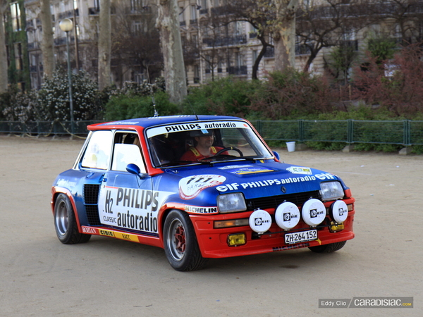 photos du jour renault 5 turbo rallye de paris classic. Black Bedroom Furniture Sets. Home Design Ideas