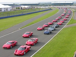 Ferrari Racing Days : plus de 1 000 voitures attendues sur le circuit de Silverstone