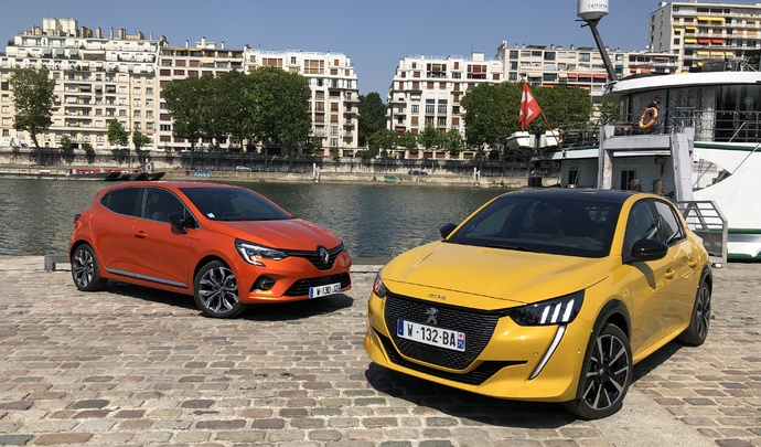 Comparatif vidéo - Renault Clio 5 vs Peugeot 208 (2019) : le match de l'année