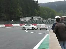 Mitsubishi Lancer Evolution VS M3 à Spa : Evo par (gros) KO
