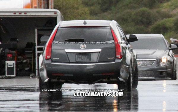Spyshot : Cadillac CTS-V Sport Wagon, pour perpétuer la tradition du break de chasse
