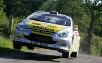 Rallye du Rouergue: Salanon reprend l'avantage