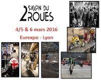 23ème Salon du 2 Roues de Lyon: du 4 au 6 mars 2016 à l'Eurexpo
