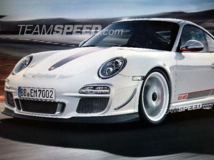 Future Porsche 911 GT3 RS 4.0: en avant les fuites