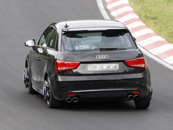 L'Audi S1 en développement sur le Nurburgring