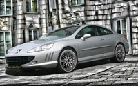 Peugeot 407 Coupé by Musketier