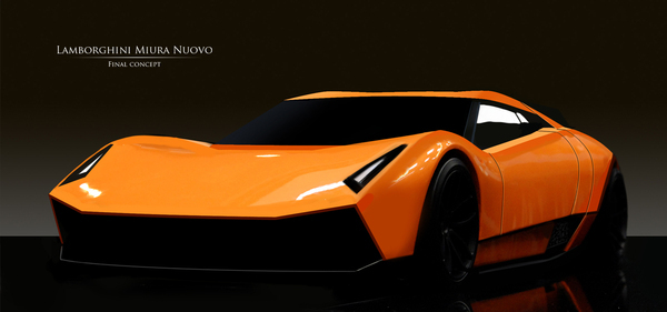 Lamborghini Miura Nuovo Concept