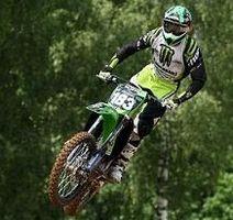 Motocross mondial en Lettonie :  Kawasaki CLS, Steven Frossard une nouvelle fois sur le podium