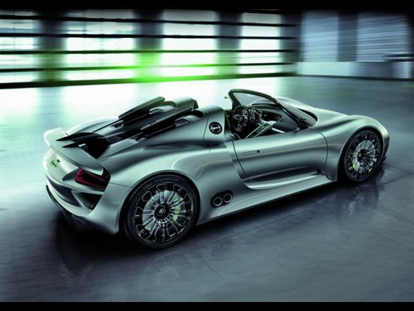 La Porsche 918 Spyder sera peut-être produite